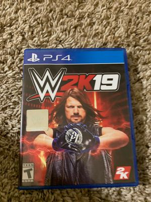 WWE 2K19 PS4 game for Sale in Bellevue, WA