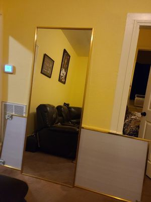 Free Closet mirror doors 80x30.5 for Sale in Vallejo, CA