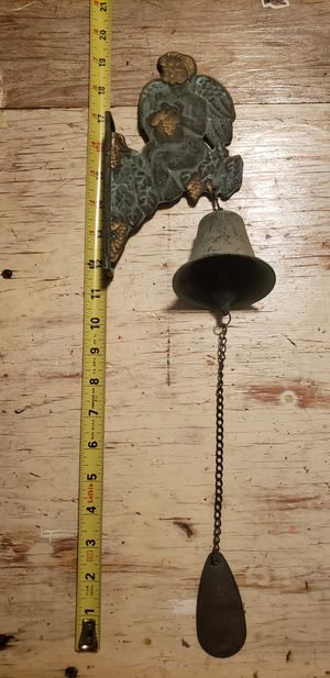 Vintage Copper Cherub Angel Bell for Sale in Albuquerque, NM