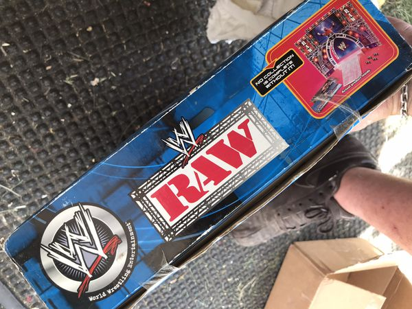 Jakks Pacific WWE RAW entrance stage very rare!