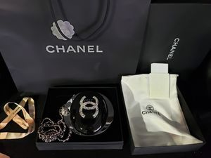 Chanel evening on the moon purse - hand bag authentic for Sale in Los Angeles, CA