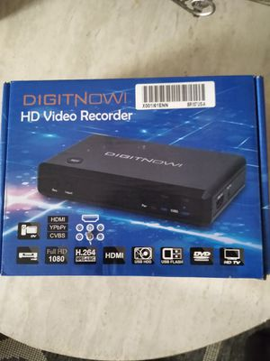 Digitnow hd video recorder for Sale in Fresno, CA