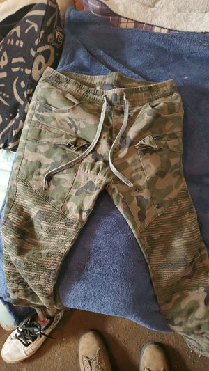 Military camo Cargo pants for Sale in San Francisco, CA