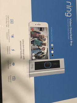 Ring Video Doorbell Pro - Satin Nickel for Sale in Folsom,  CA