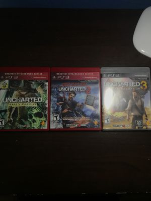 Uncharted Triple Bundle for Sale in San Jose, CA