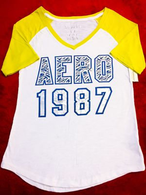 NWT! Aeropostale Baseball Tee w foil writing, Large for Sale in Las Vegas, NV