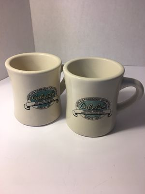 2 - Cabela's World's Foremost Outfitters Heavy Restaurant Ware Mug for Sale in Lincoln, NE