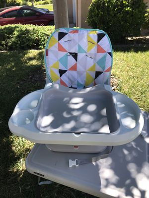 Fisher price space saver high chair for Sale in Temecula, CA