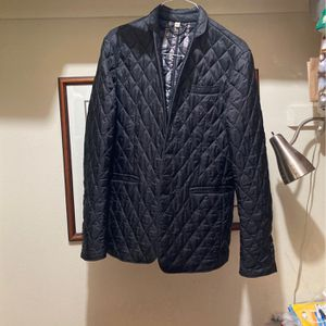 Burberry Appliqué Quilted Blazer Men's Large for Sale in Dallas, TX