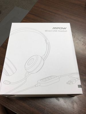 Mpow Wired USB Headset Brand New inbox for Sale in Boca Raton, FL