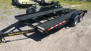 Bigfoot Trailers 16' open center car trailer All Steel hand made in Florida for Sale in Dover, FL