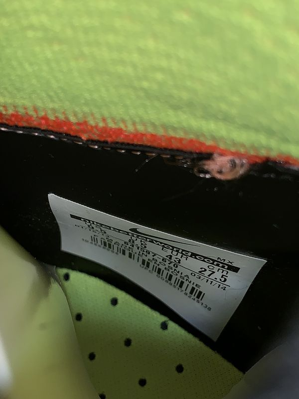 """Soccer indoors Nike Elástico superfly size """" 9.5"""""""