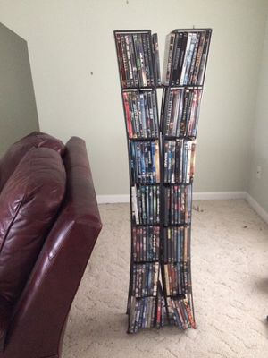 DVD, Blu-Ray video vertical space saver storage rack, DVDs not included for Sale in Southbury, CT