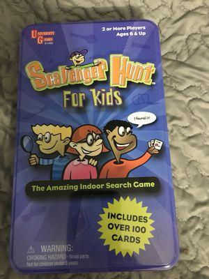 Scavenger Hunt for Kids game for Sale in Shoreline, WA