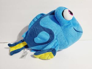 Bandai Finding Dory Talking Dory Plush Toy Stuffed Animal Tested Working 12'' for Sale in Queens, NY