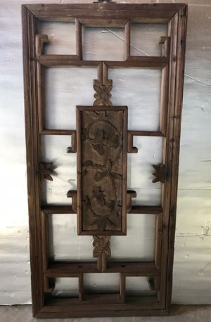 Chinese antique hand carved wall art for Sale in Silver Spring, MD