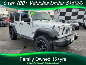 2014 Jeep Wrangler Unlimited Sport for Sale in Everett, WA