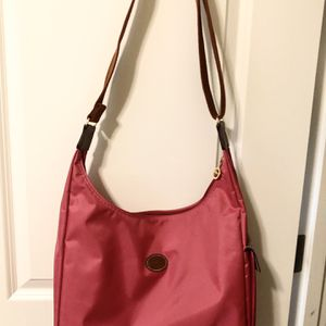 Longchamp Pink Nylon Hobo Bag for Sale in Renton, WA