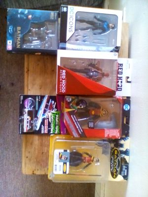 Lot of 5 collectible action figures all rare and not sold any place REDHOOD ALONE GOING FOR $200 for Sale in Philadelphia, PA