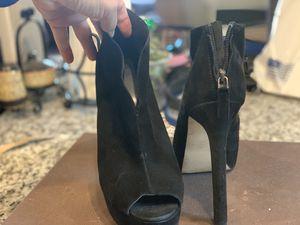 Peep toe Heels 9 West Suede size 9 for Sale in Long Beach, CA