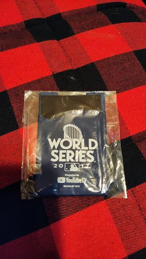Phone wallet WORLD SERIES 2017 for Sale in Los Angeles, CA