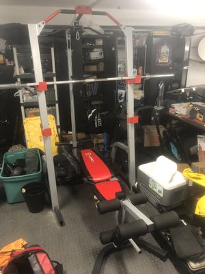 Home gym, bench press for Sale in Black Diamond, WA