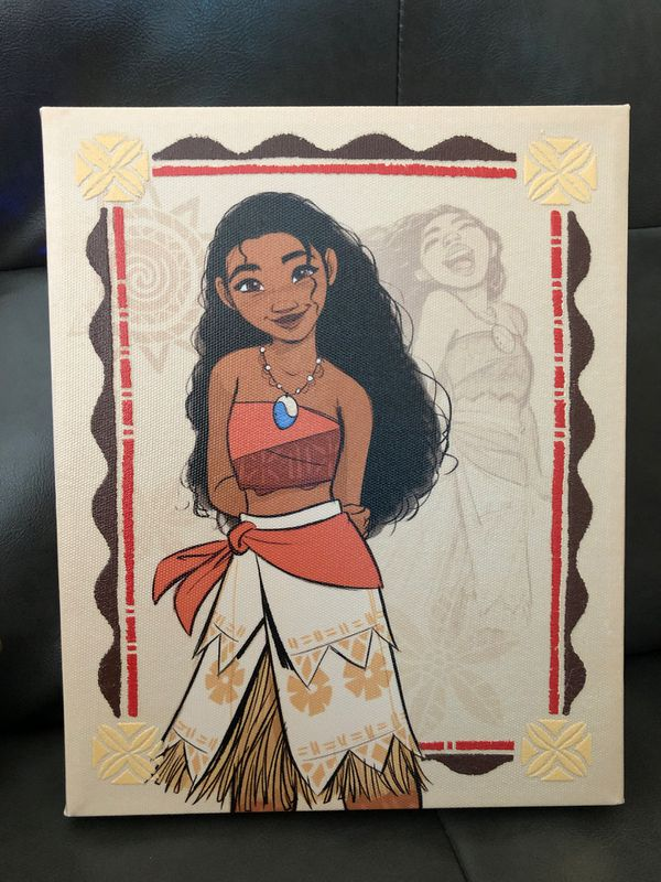 Small Moana canvas picture