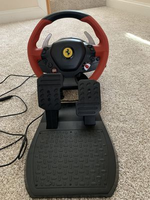 Thrustmaster Ferrari 458 Spider Racing Wheel for Sale in Silver Spring, MD