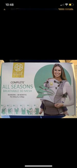 Brand new!! Lillebaby all season baby carrier for Sale in Irvine, CA