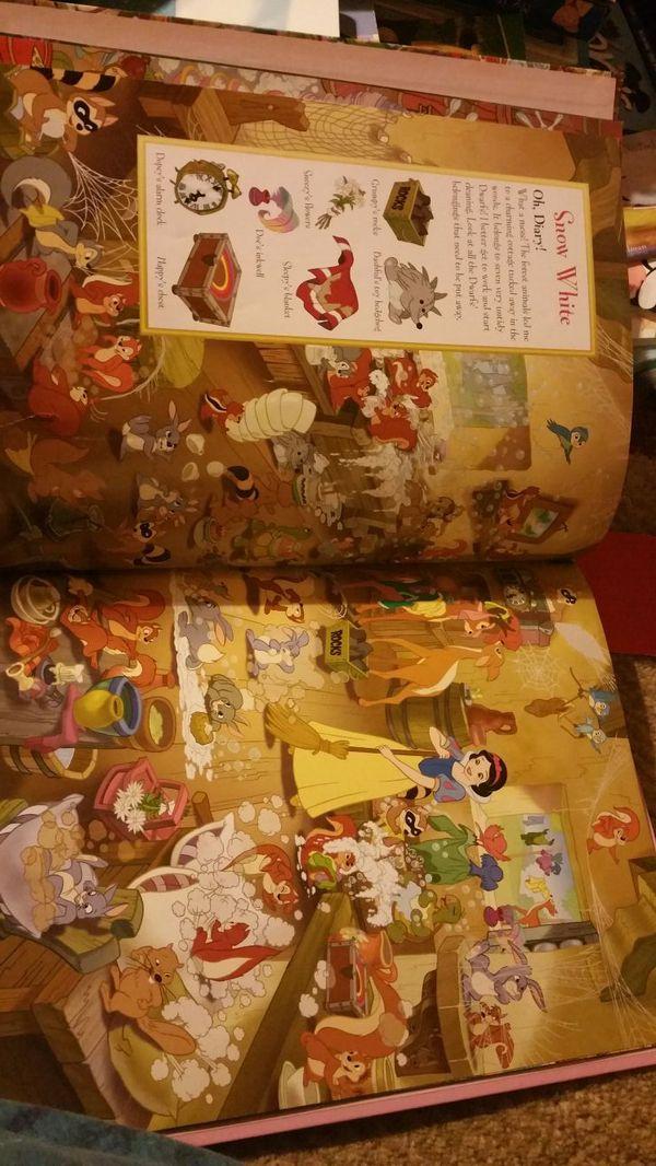 Big look and find princess book.