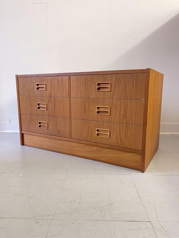 Vintage Mid Century Modern Danish Cabinet Storage Hutch Seattle