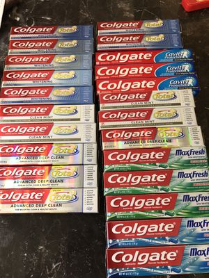 Colgate toothpaste 5.8oz-6.0oz for Sale in Durham, NC