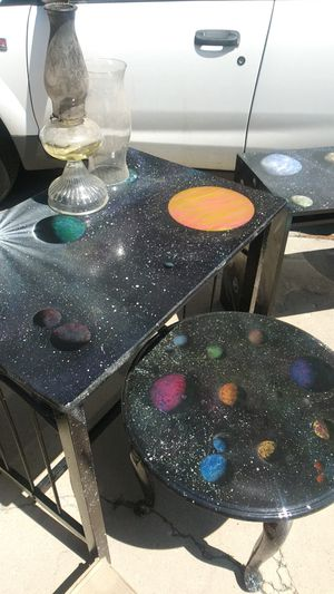 Custom made stellar tables that are out this world for Sale in Highland, UT
