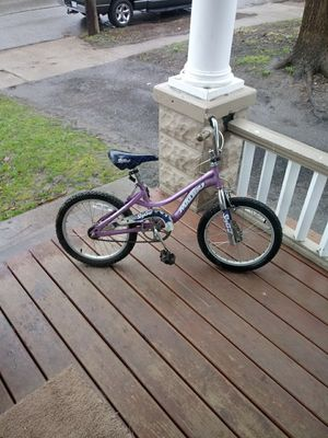18 in girls bike 20 firm for Sale in Cleveland, OH