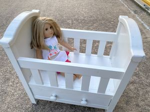 American Girl Doll & Wooden bed for Sale in Mansfield, TX
