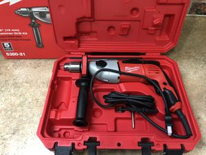 "Milwaukee hammer drill 1/2"" for Sale in Anaheim, CA"
