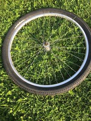 Aluminum alloy bicycle rim and good tire. for Sale in Bridgeport, WV