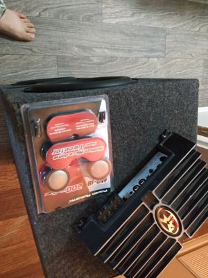 Punch amp and spx pro audio speakers for Sale in Dallas, TX