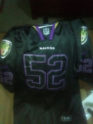 Ray Lewis blacked out jersey. Size 56 for Sale in Eau Claire, WI
