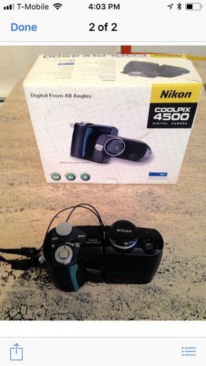 Nikon Coolpix 4500 for Sale in New York, NY