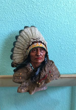 Native American Bust Figurine for Sale in Fort McDowell, AZ