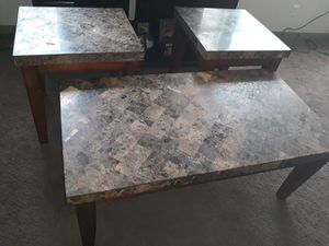 3 peice marble table set for Sale in Cleveland, OH