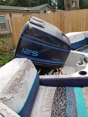 125hp force outboard for Sale in Home, WA