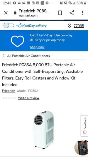 Friedrichs airconditon and heater for Sale in Groves, TX