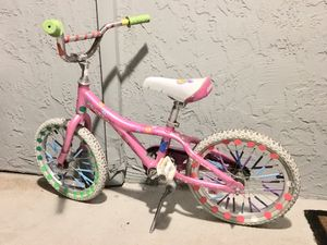 """Girls Pink 16"""" Bike by Giant sells for $175 new for Sale in Palo Alto, CA"""