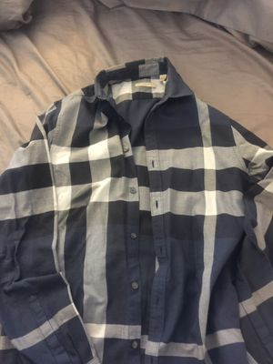 Burberry button up for Sale in Pittsburgh, PA