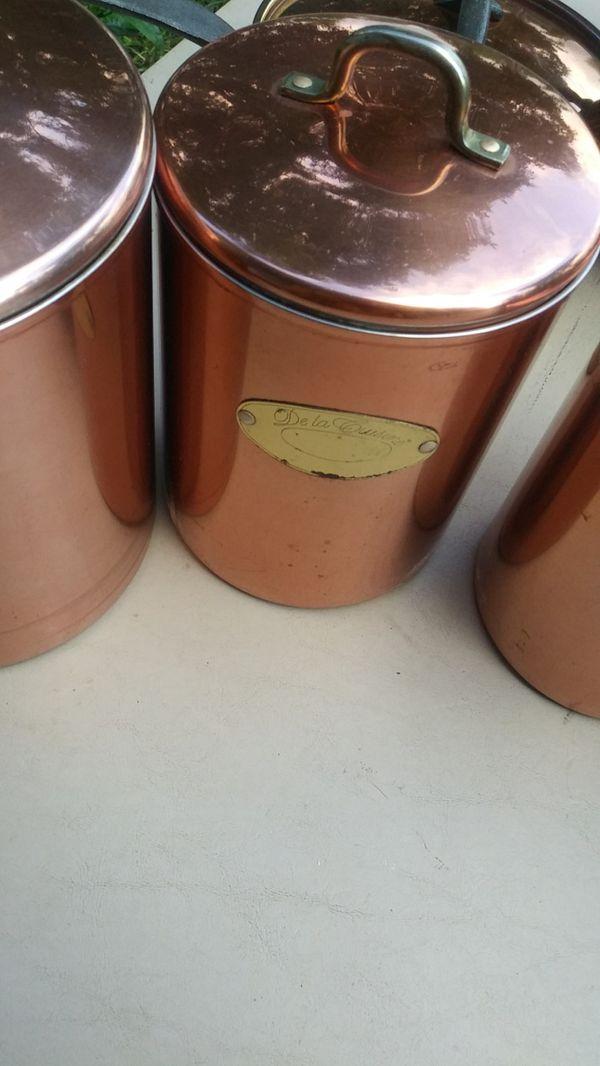 3 Pcs Pot Set & Storage Containers