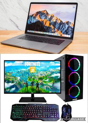 PC Desktop, Laptops and MacBooks (SEE DESCRIPTIONS ) for Sale in Hialeah, FL