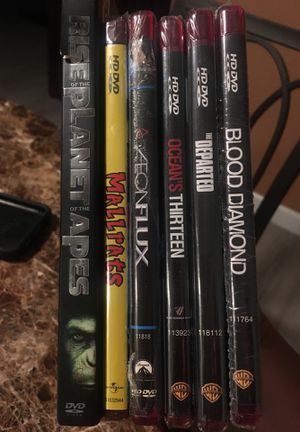 Lot of 6 HD DVDs - new and sealed for Sale in Lake Dallas, TX