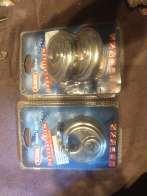 Abus 26/70 and 28/70 keyed locks new for Sale in Phoenix, AZ